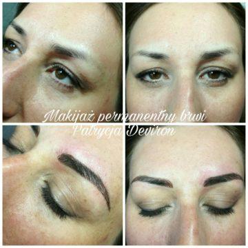 Makijaż permanentny brwi od 650zł